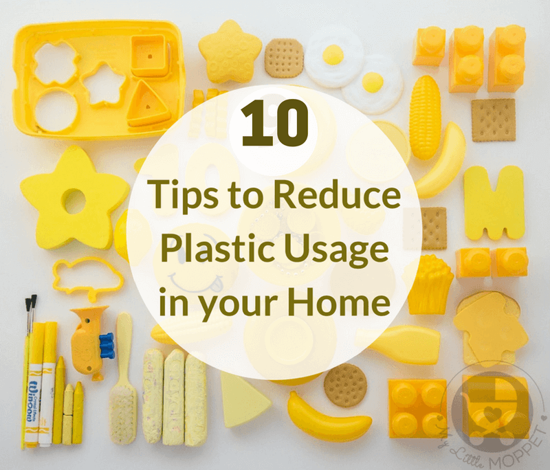 Do you know how much plastic is used in your home? This Earth Day, let's pledge to reduce plastic usage in our homes and our lives!