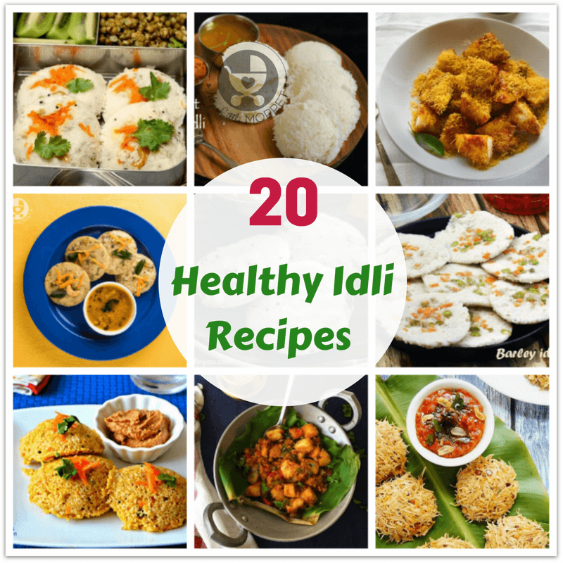 Idlis are super versatile, you can mix any combination of ingredients and make idlis! Here are 20 Healthy Idli Recipes for the whole family to enjoy!