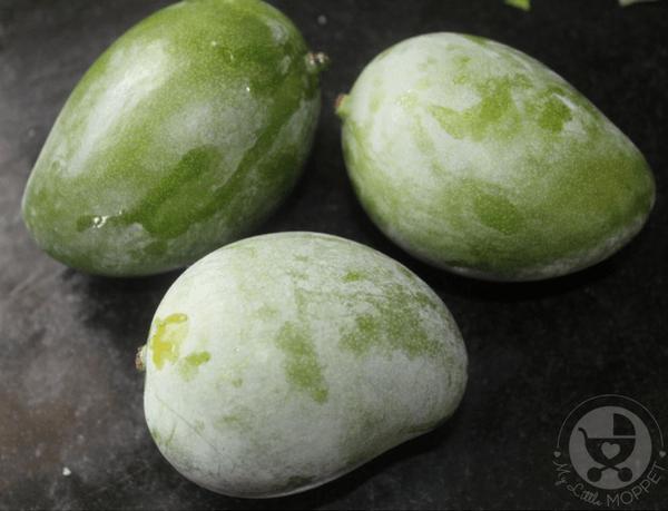 raw mango pachadi