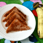 Want a recipe that doubles up as an easy school morning breakfast and a quick snack? This Vegan Banana Coconut French Toast recipe is just what you're looking for!