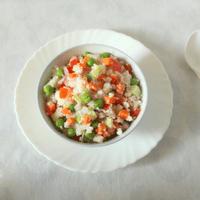 Barnyard Millet Vegetable Salad for Toddlers
