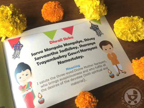story of diwali for kids
