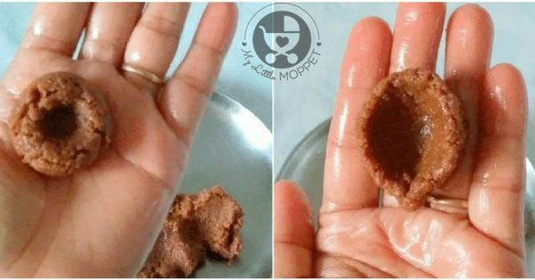 edible chocolate diya