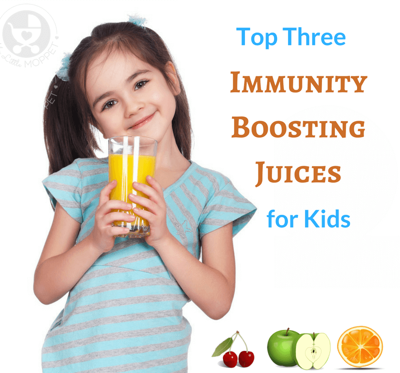 Juicing takes all the hassle out of eating fruits and vegetables, while still contributing the right amount of nutrients and minerals.Try these three immunity boosting juices for kids, to help boost their immune system, and protect them from winter bugs.