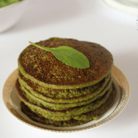 Spinach Oat Pancakes Recipe for Babies