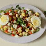 Indian Style Healthy Egg Salad Recipe