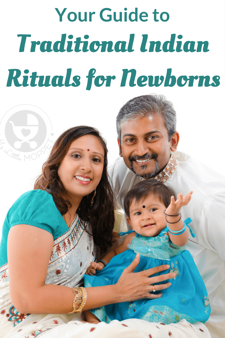 Ever wondered when you should pierce your baby's ears or shave her head? We talk about this & more in our guide to traditional Indian rituals for newborns!