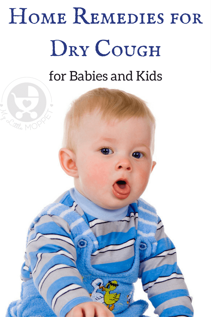 home remedies for dry cough in babies and kids