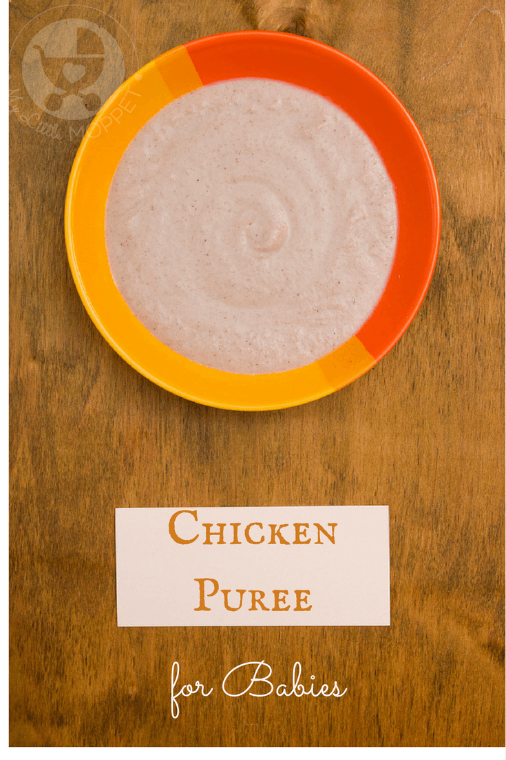 Combine the goodness of chicken and vegetables in this Indian chicken puree recipe for babies. Use any vegetables of your choice and let your baby enjoy a yummy dish!