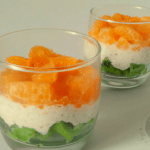 Thinking of new ways to get your kids to eat more fruit? Check out this Tricolor Fruit Parfait, that's also perfect for Republic Day!