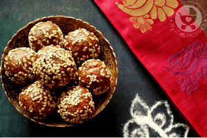 Dates Sesame Seeds Ladoo Recipe