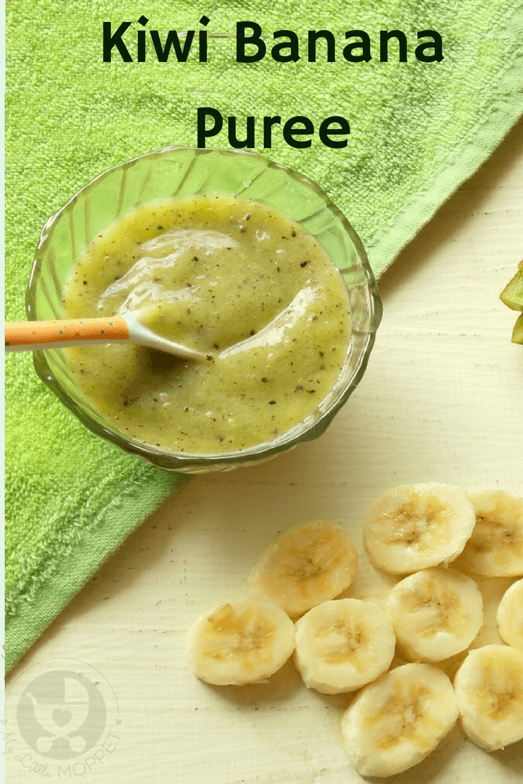 Kiwi banana puree for babies introduce your baby to different flavors with a delicious kiwi banana puree packed with antioxidants forumfinder Choice Image