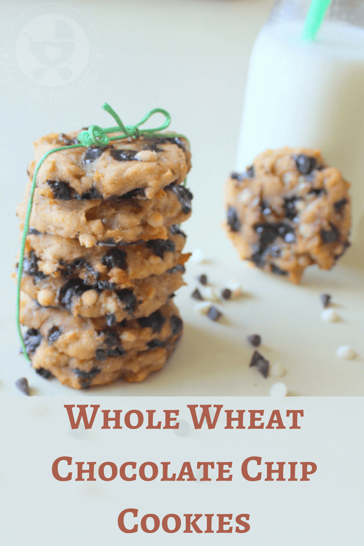 These whole wheat chocolate chip cookies are unbelievably easy, with just three ingredients! Besides,   they're also eggless and sugar-free!