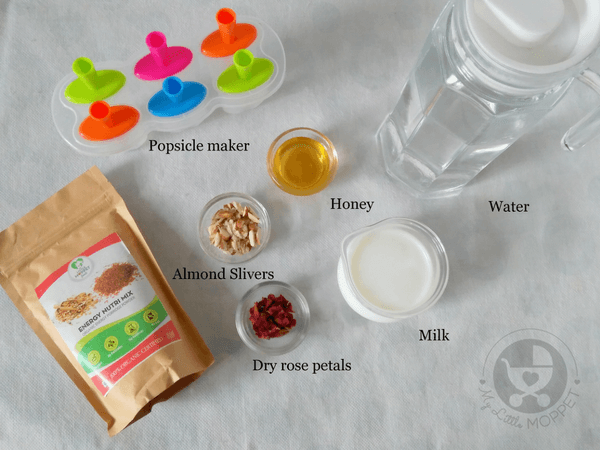ingredients for nutri mix popsicle