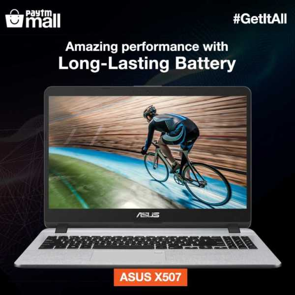 #GetitAll with latest ASUS Laptops, exclusively available on Paytm Mall! With superior battery, stylish looks, fingerprint sensor and many more features, this is a must have!