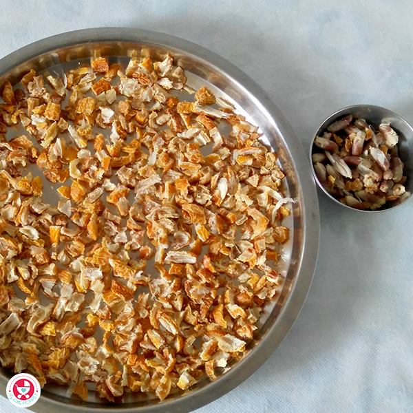 make dry dates powder in home