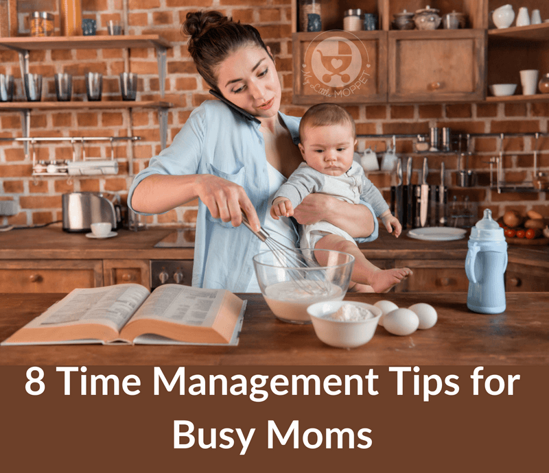 We all have just 24 hours in a day, but it often seems too little! Here are some basic time management tips for busy Moms to live a happy and full life.