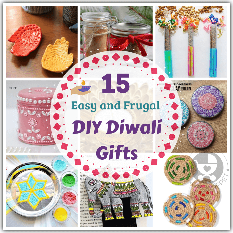 Skip the usual boring gifts and go handmade this year with these easy DIY Diwali gifts that you can make yourself! Save time, money and the environment!