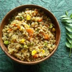 Quinoa vegetable upma is a gluten free, nutritious recipe with the wholesome goodness of vegetables and quinoa, It's the best toddler food.