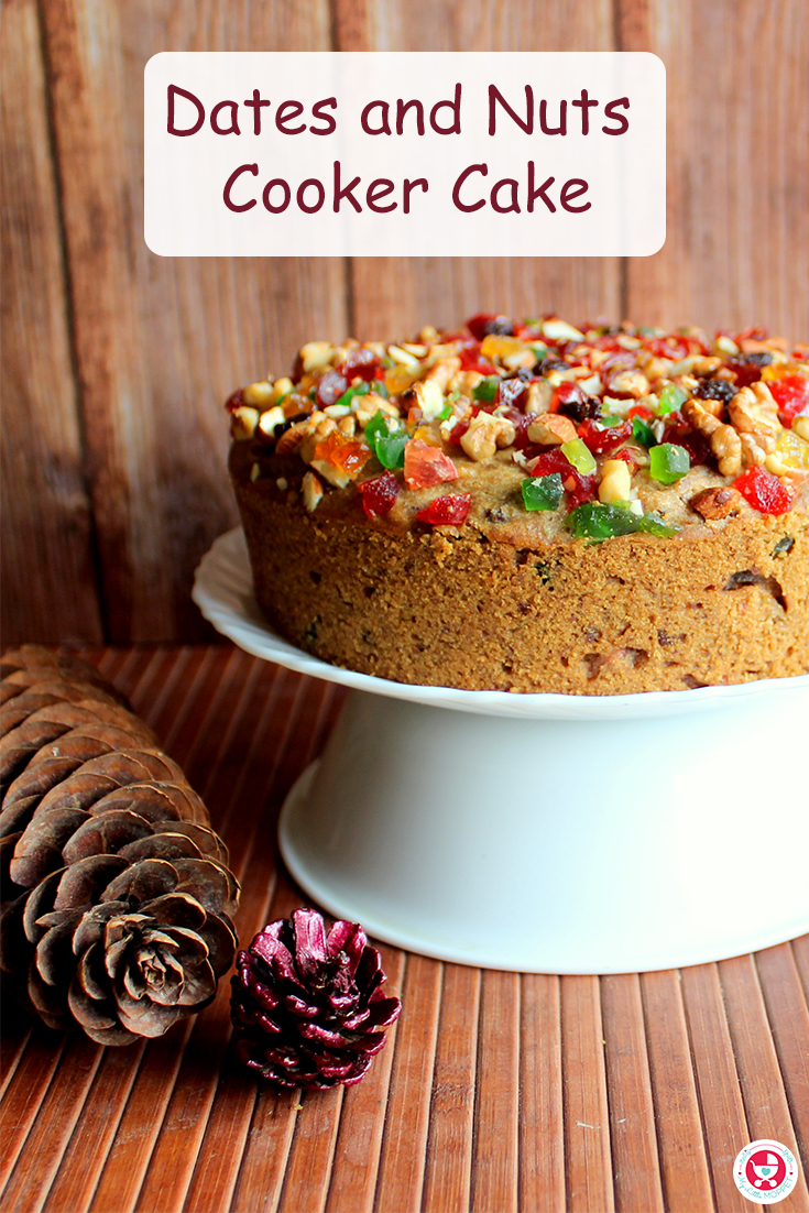 Cakes are tender and gorgeous sweet desserts. Our Dates and Nuts Cooker Cake is more delicious as well as nutritious and it's easily made.