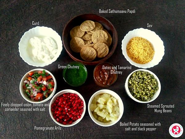 How to make Sathumaavu Dahi Papdi Chaat?