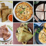 Dosas don't have to be plain! Check out these healthy dosa recipes for babies and toddlers for a variety of dosas made from millet, vegetables & more!