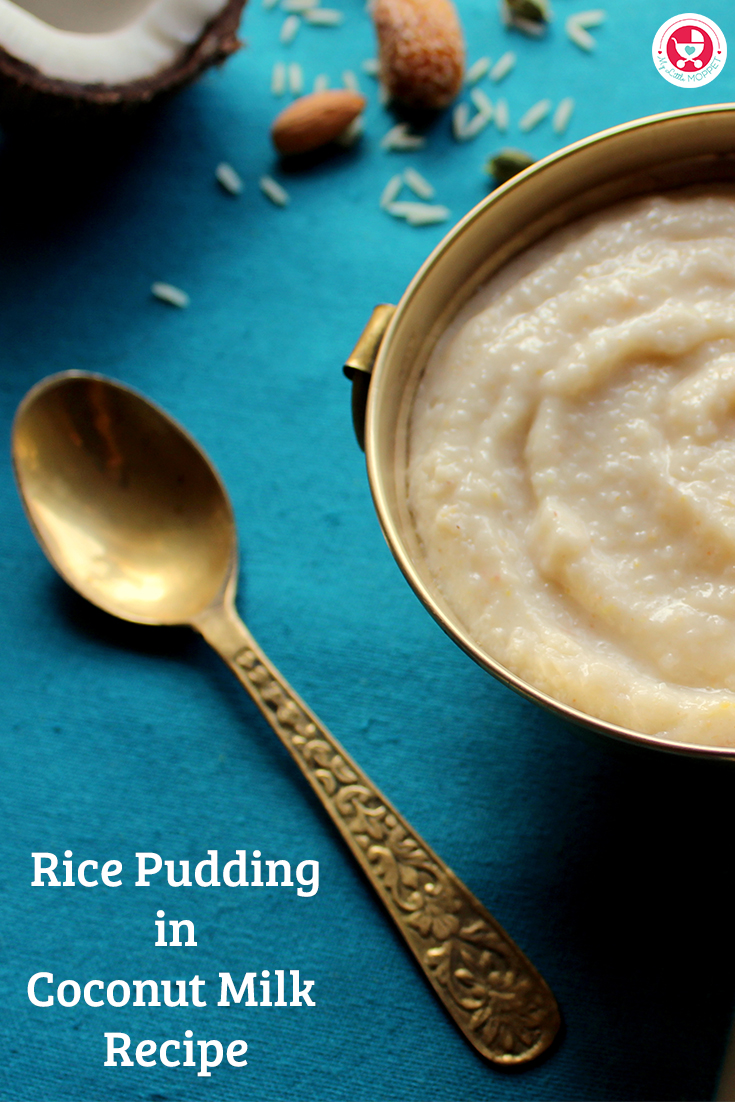 Rice Pudding in Coconut Milk Recipe is a highly nutritious and tasty pudding recipe with a wholesome combination of nuts, dates. coconut milk and rice.