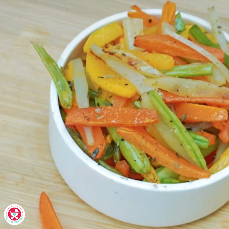 4 Vegetable Finger Foods for Babies is a nutritious finger food recipe which would help the baby with the essential nutrients needed for a healthy growth and development.