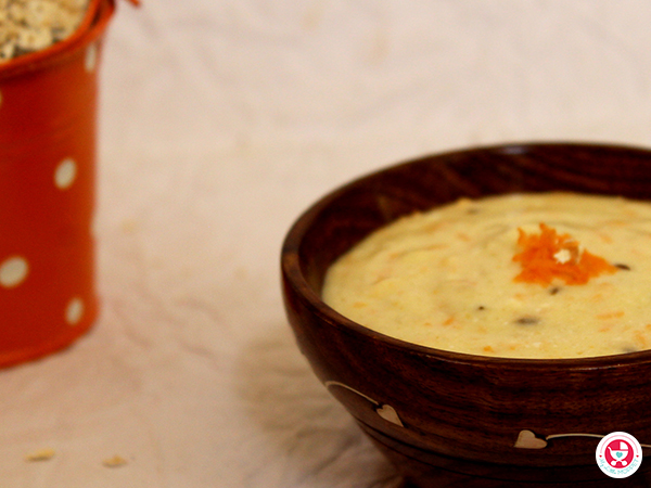 Curd Oats Khichdi for Babies