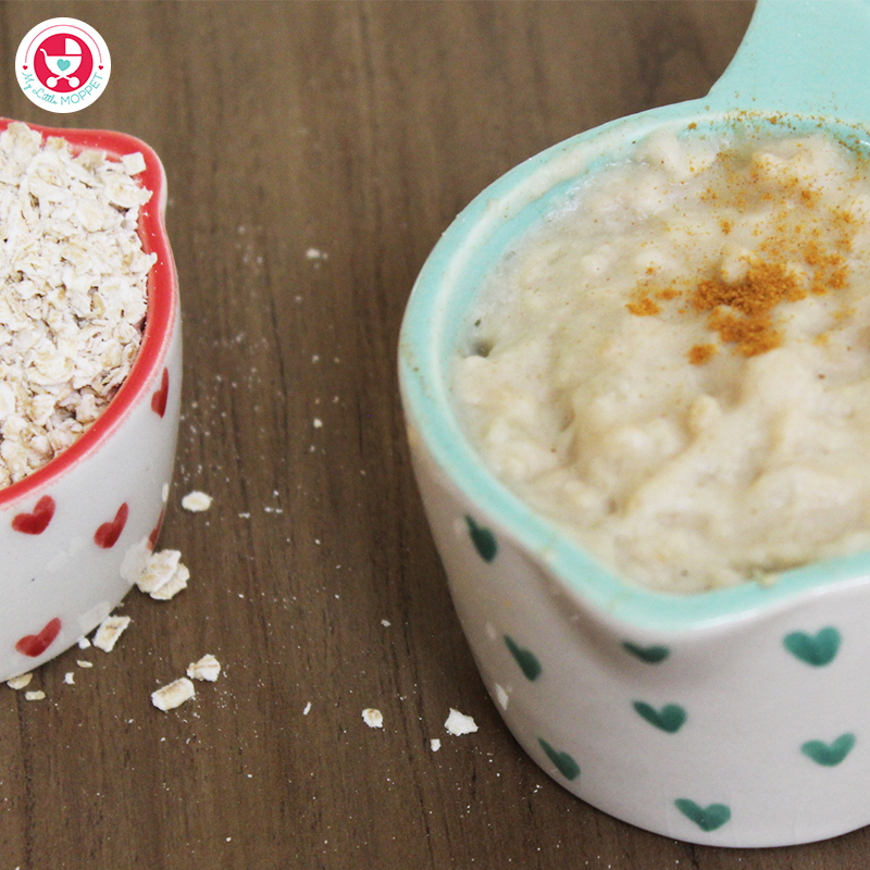 Oats Pumpkin Porridge for Babies is a super nutritious recipe which is good for boosting the immunity and aid healthy weight gain in babies.