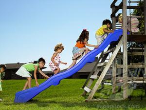 climbing up the slide2