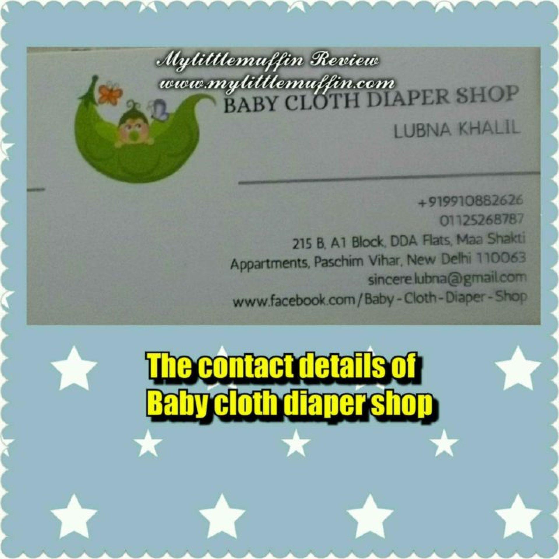 Baby cloth diaper shop