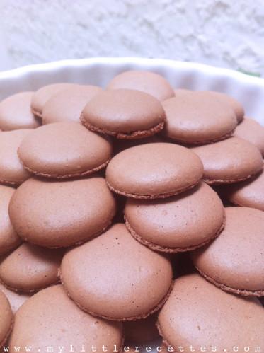 Coques de macarons - recette Pierre Hermé