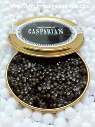 Fêtes, la Maison Casparian et son caviar Golden Asetra Réserve