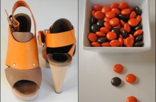 Chaussures à croquer - photos acidulées