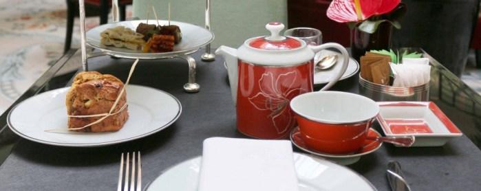 L'Afernoon tea 100% vegan du Shangri-La Paris....gastronomique