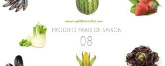 Les produits frais de saison à consommer en août