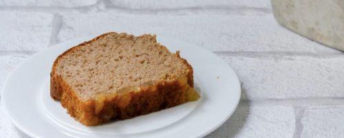 Gâteau léger à la châtaigne et gingembre confit