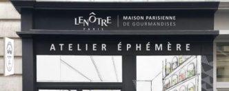 Lenôtre ouvre un concept store dédié à la pâtisserie