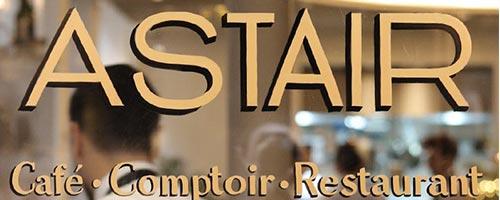 Restaurant, Gilles Goujon *** signe la carte d'Astair