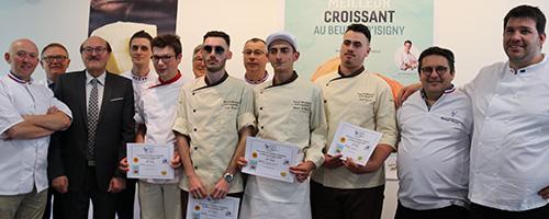 Deux candidats s'illustrent au Concours du Meilleur Croissant au Beurre d'Isigny A.O.P