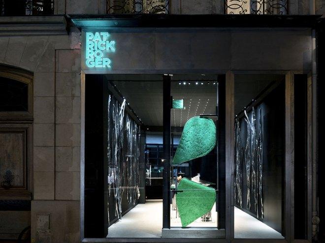 la toute dernière boutique de Patrick Roger rue de Sèvres à Paris