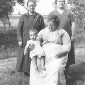 Four generations Ella, Laverne, Celestia, Cecile