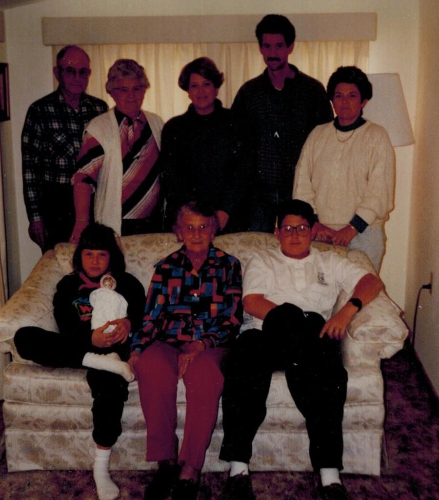 leona and family