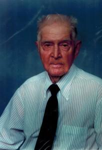 Grandap in tie