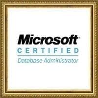 Microsoft Certified Database Administrator