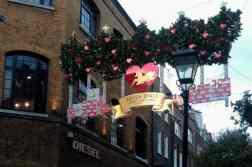 Londra, Seven Dials a Natale