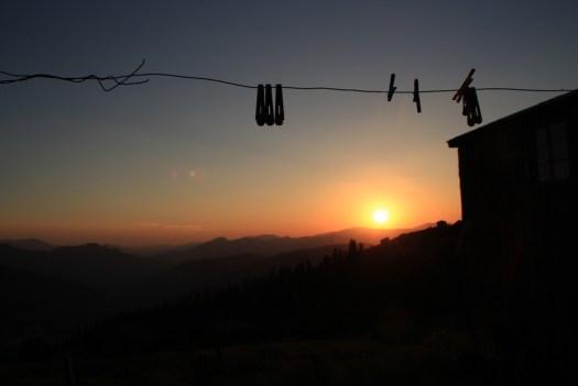 Sunset in Goderdzi