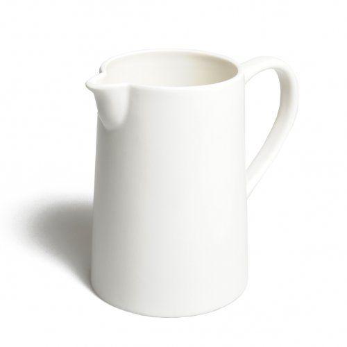 cruche en porcelaine blanc kille et kamille