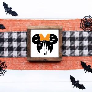 panneau mini farmhouse halloween